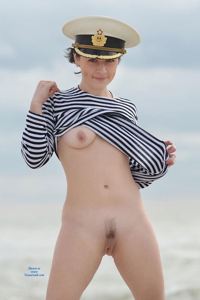 Pic #3 Sexy Captain - Beach, Brunette, Costume