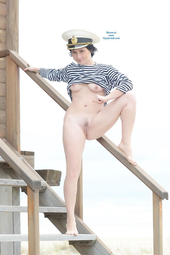 Pic #9 Sexy Captain - Beach, Brunette, Costume