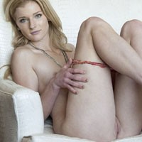 Hotel Hottie - Blonde Hair, Shaved, Small Tits