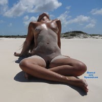 Paradise Pics - Beach, Hard Nipples