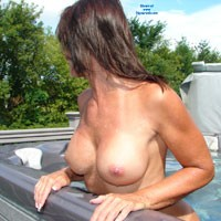 Spa After Our Bike Ride - Big Tits, Brunette, Mature