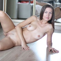 Nicole - Sexy September - Brunette Hair, Flashing, Hard Nipple, Perfect Tits, Pussy Lips, Shaved, Sexy Ass, Sexy Lingerie, European And/or Ethnic