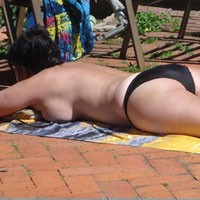 Caught Sunning - Wife/Wives, Bikini Voyeur