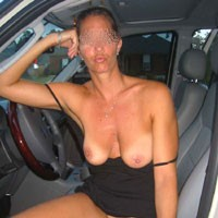 Cleaning Car - Firm Ass, Wife/Wives, Hard Nipples, Medium Tits, Pussy, Bush Or Hairy