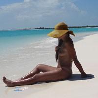 Island Hotel - Brunette Hair, Perfect Tits, Wet, Beach Voyeur