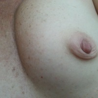 Small tits of my wife - Geraldine 76