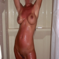 Medium tits of my wife - curious