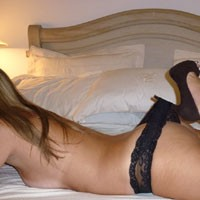 La Mia Bella Donna - High Heels Amateurs, Lingerie, Blonde