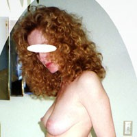 Tall and Sexy - Redhead, Firm Ass, Hard Nipples, Natural Tits