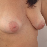Very small tits of a co-worker - Liz