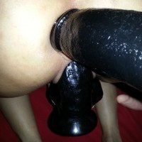 Huge Black Dildo 2 - Toys, Close-Ups