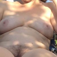Medium tits of my wife - Carol