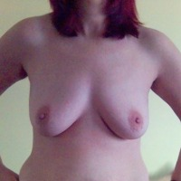 Medium tits of my girlfriend - sandra