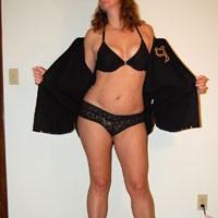 Cheering on The Team - High Heels Amateurs, Costume, Hard Nipples, Medium Tits, Natural Tits, Redhead, Bush Or Hairy