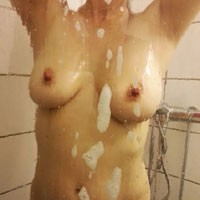 Belia - Hard Nipples, Natural Tits, Wet, Bush Or Hairy