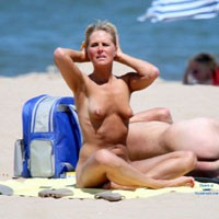 In The South of France on a Nude Beach - Beach