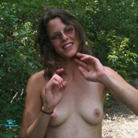 More of Sarah Outdoors - Brunette, Natural Tits, Outdoors