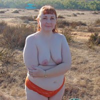 Outdoors at Sunset 2 - Big Tits, Redhead, BBW, Outdoors