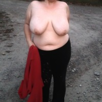 Very large tits of my girlfriend - Sweetie