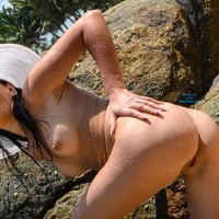 Ocean of Passion - Brunette Hair, Shaved, Beach Voyeur
