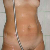 Shower - Wife/Wives, Bush Or Hairy, Wet