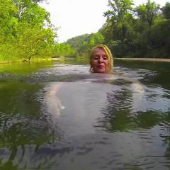Ole' Swimmin' Hole - Blonde, Mature, Nature