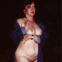 A Night On The Road - Mature, Bush Or Hairy, Big Tits, Brunette, Hard Nipples