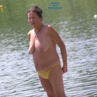 Mature03a - Beach, Big Tits, Brunette, Mature