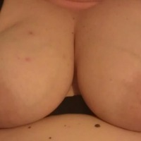 Very large tits of my wife - aeh