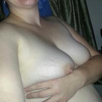 Medium tits of my wife - Beautiful Wife