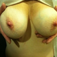Medium tits of my wife - Susan