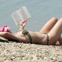 Book - Beach, Bikini Voyeur