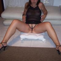 Sexy Stef In Lingerie! - Brunette, High Heels Amateurs, Shaved, Big Ass