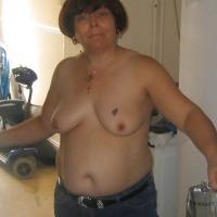 Medium tits of my wife - donna