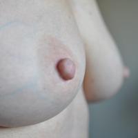 Medium tits of my wife - Diana