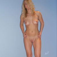 Monica Mix - Blonde, Costume, Firm Ass, Lingerie, Shaved
