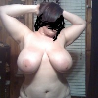 Very large tits of my girlfriend - hayley