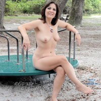 Loves To Be Naked - Big Tits, Brunette Hair, Mature