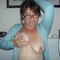 Large tits of my wife - babs