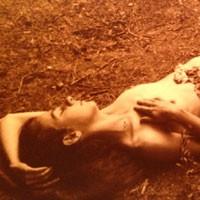 Cynthia Toooo - Brunette, Nature, Outdoors, Bush Or Hairy