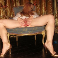 Hot Sexy Legs & Heels - Heels, Long Legs, Masturbation, Toys