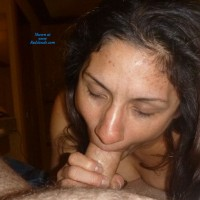 Shay Sucking - Brunette Hair, Blowjob