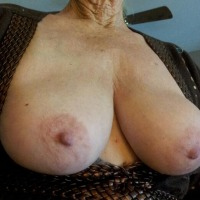 Large tits of my wife - ann