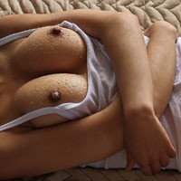 Wet - Wet, Bush Or Hairy, Big Tits, Hard Nipples