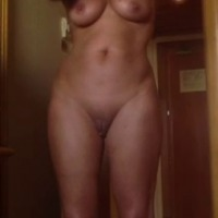 Medium tits of my wife - ,