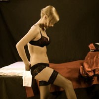 Sweet Blonde - Lingerie, Blonde, Tattoos