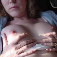 Medium tits of my wife - Jenn