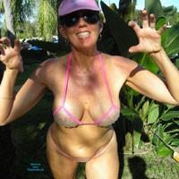 Bubble Wrap Bikini - Bikini, Exposed In Public, Hairy Bush, Nude In Public