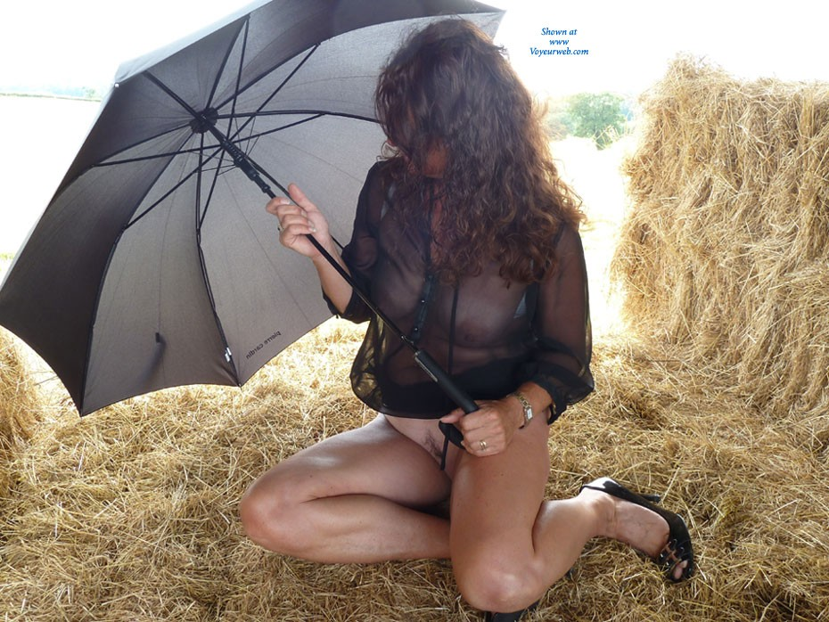 Pic #1 - Hay Barn - Heels, See Through, Wife/Wives , My Husband And L Were Out On Our Bikes On A Hot Summers Day And Noticed A Secluded Hay Barn. We Then Decided It Would Be A Great Opportunity For A Photo Shoot. 1st Time Submitting, So Look Forward To Your Comments.