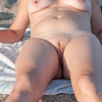 Medium tits of my ex-wife - Mature